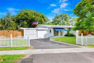 Fort Lauderdale Single Family Home For Sale: 3601 SW 16th Street