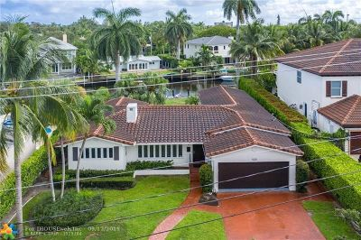Fort Lauderdale Single Family Home For Sale: 1020 S Rio Vista Blvd