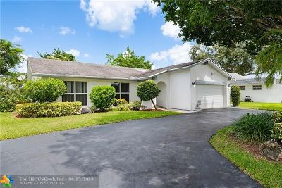 Tamarac Single Family Home For Sale: 4508 Norfolk Island Pine Dr
