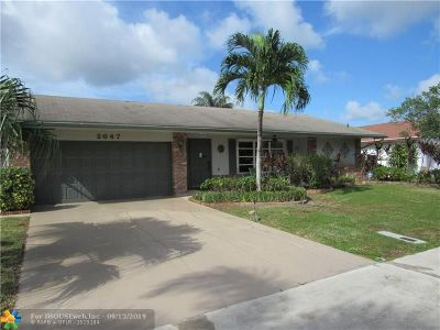 Deerfield Beach Single Family Home For Sale: 2647 SW 14th Dr