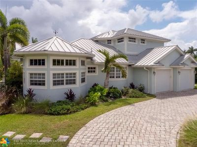 Fort Lauderdale Single Family Home For Sale: 2649 NE 27th Ave