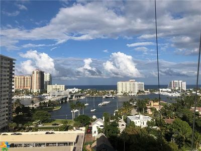 Fort Lauderdale Condo/Townhouse For Sale: 340 Sunset Dr #1810