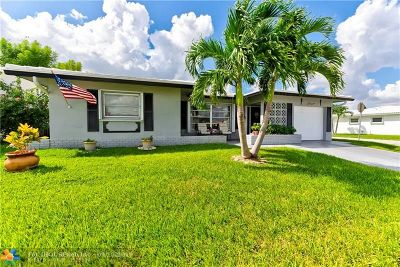 Tamarac Single Family Home For Sale: 8516 NW 57th Pl