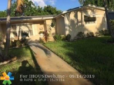 Lauderdale Lakes Single Family Home Backup Contract-Call LA