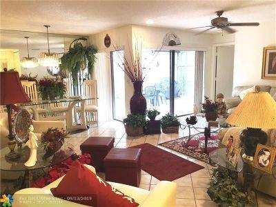 Coconut Creek Condo/Townhouse For Sale: 4660 Carambola Cir