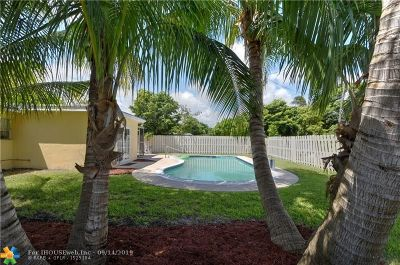 Pompano Beach FL Single Family Home For Sale: $309,900