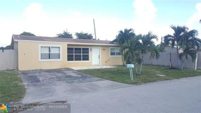 Pompano Beach Single Family Home For Sale: 4260 NE 12th Ter