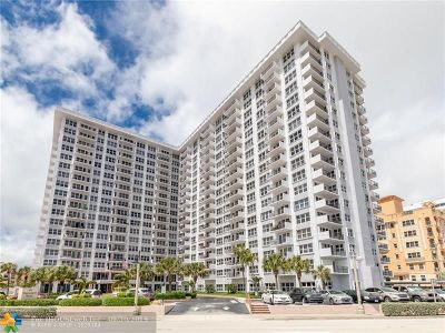 Pompano Beach Condo/Townhouse For Sale: 405 N Ocean Blvd #723
