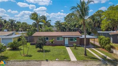 Pompano Beach Single Family Home For Sale: 427 NE 24th Ave
