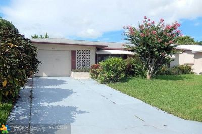 Tamarac Single Family Home For Sale: 4921 NW 53rd St