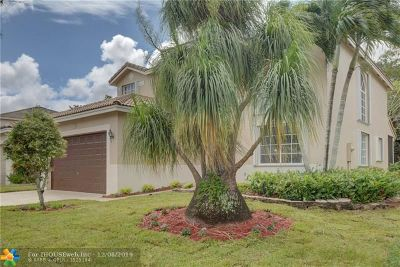 Coconut Creek Single Family Home For Sale: 5532 Lake Tern Ct