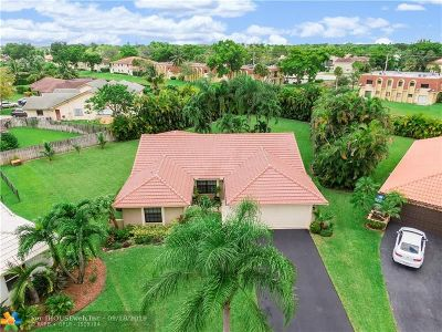 Broward County Single Family Home For Sale: 11377 NW 21st Ct