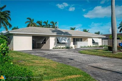 Pompano Beach Single Family Home For Sale: 1901 NE 28th Av