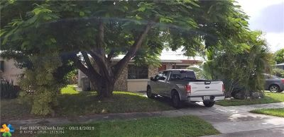 Pompano Beach Single Family Home For Sale: 2448 NE 13th Ave