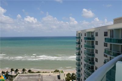 Hollywood Condo/Townhouse For Sale: 3901 S Ocean Dr #PH16x