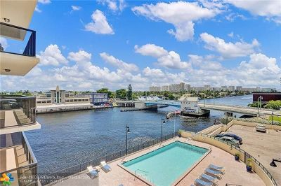 Fort Lauderdale Condo/Townhouse For Sale: 5100 Dupont Blvd #5N
