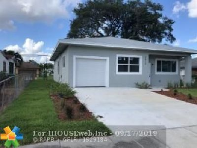 Fort Lauderdale FL Single Family Home For Sale: $320,000
