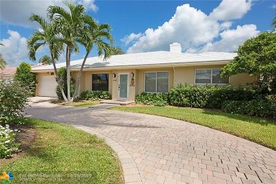 Broward County Single Family Home For Sale: 4440 NE 25th Ave