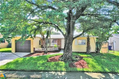 Margate Single Family Home For Sale: 140 NW 79th Ave
