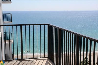 Hollywood Condo/Townhouse For Sale: 2201 S Ocean Dr #1608