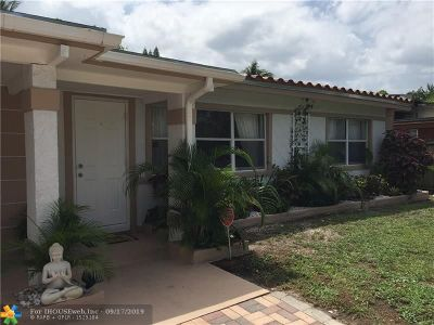 Fort Lauderdale FL Single Family Home For Sale: $309,000