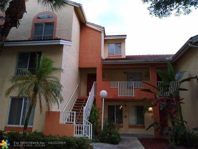 Coral Springs FL Condo/Townhouse For Sale: $155,000
