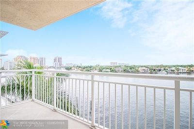 Fort Lauderdale FL Condo/Townhouse For Sale: $595,000