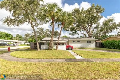 Fort Lauderdale FL Single Family Home For Sale: $360,000