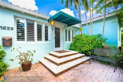 Fort Lauderdale FL Single Family Home For Sale: $1,125,000