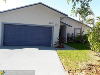 Miami Single Family Home For Sale: 11514 SW 172nd Ter