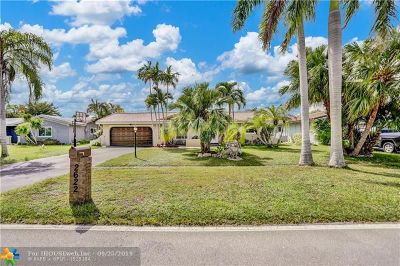 Broward County Single Family Home For Sale: 2622 NW 118th Dr