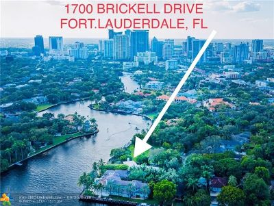 Broward County Single Family Home For Sale: 1700 Brickell Dr
