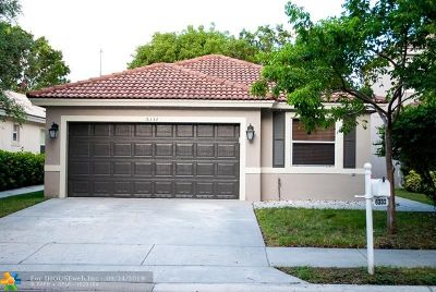Coconut Creek Single Family Home For Sale: 6332 NW 36th Ave