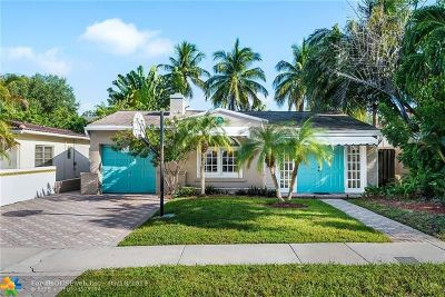 Fort Lauderdale FL Single Family Home For Sale: $785,000
