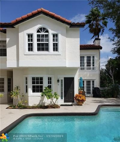 Fort Lauderdale FL Condo/Townhouse For Sale: $469,900