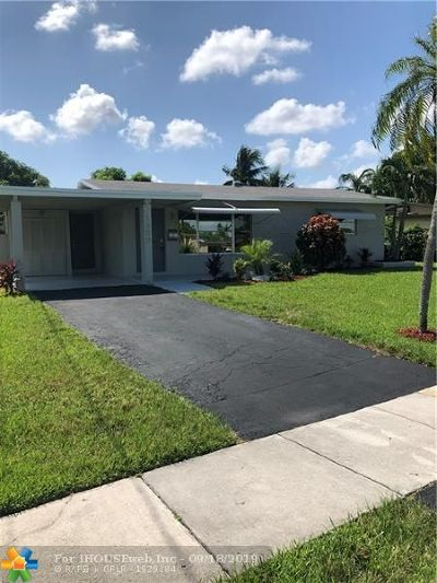 Broward County Single Family Home For Sale