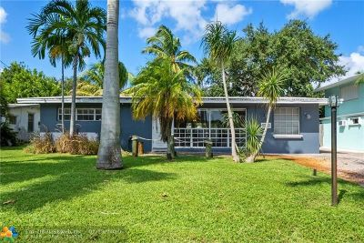 Fort Lauderdale FL Single Family Home For Sale: $485,500