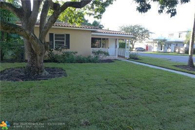 Fort Lauderdale FL Single Family Home For Sale: $499,000