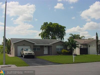 Broward County Single Family Home For Sale: 8201 NW 103 Ave