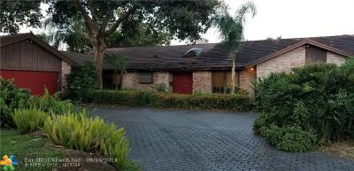 Broward County Single Family Home For Sale: 3631 N 53rd Ave