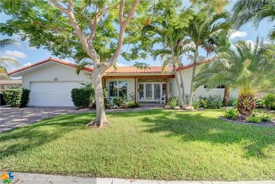 Fort Lauderdale FL Single Family Home For Sale: $629,000
