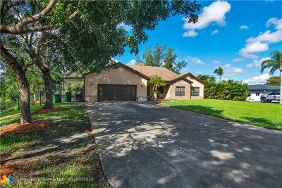 Davie Single Family Home For Sale: 2943 SW 154th Ln