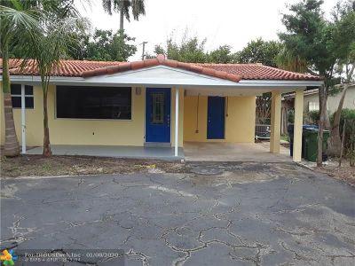 Broward County Single Family Home For Sale: 332 NE 29th St