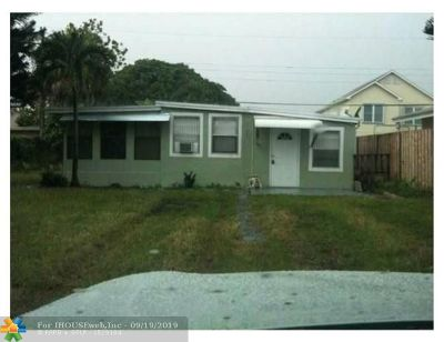 Fort Lauderdale FL Single Family Home For Sale: $235,500