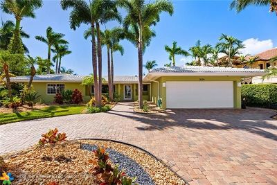 Fort Lauderdale FL Single Family Home For Sale: $1,995,000