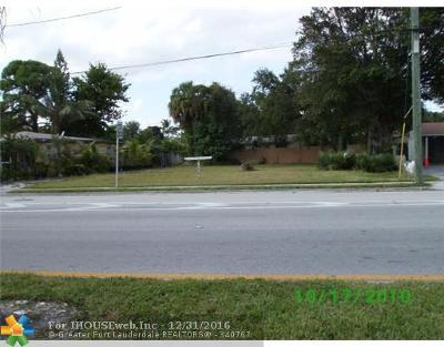 Riverside Park Residential Lots & Land For Sale: 1709 Davie Blv