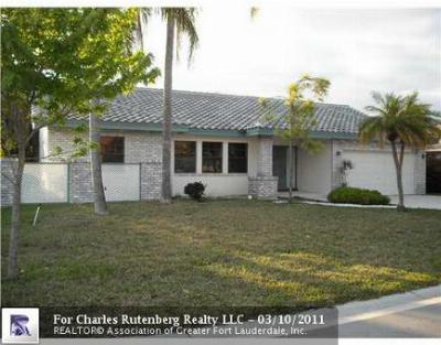 Coral Springs Single Family Home Sold: 5158 NW 58th Ter