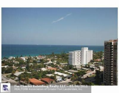 Condo/Townhouse Sold: 3015 N Ocean Blvd #18J