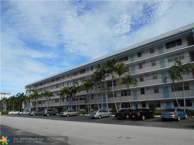 Fort Lauderdale Condo/Townhouse Sold: 5300 NE 24th Ter #403