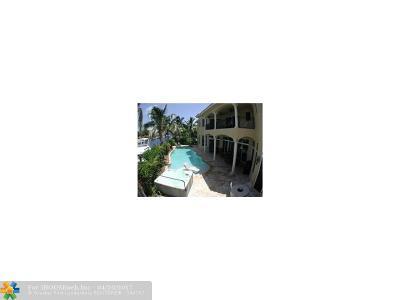 Pompano Beach Rental For Rent: 1261 NE 27th Wy